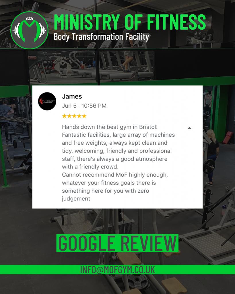Google review James