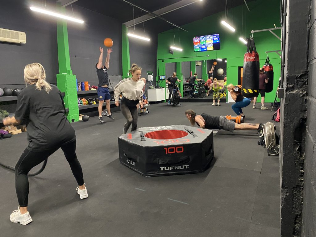 Monster Hiit class at ministry