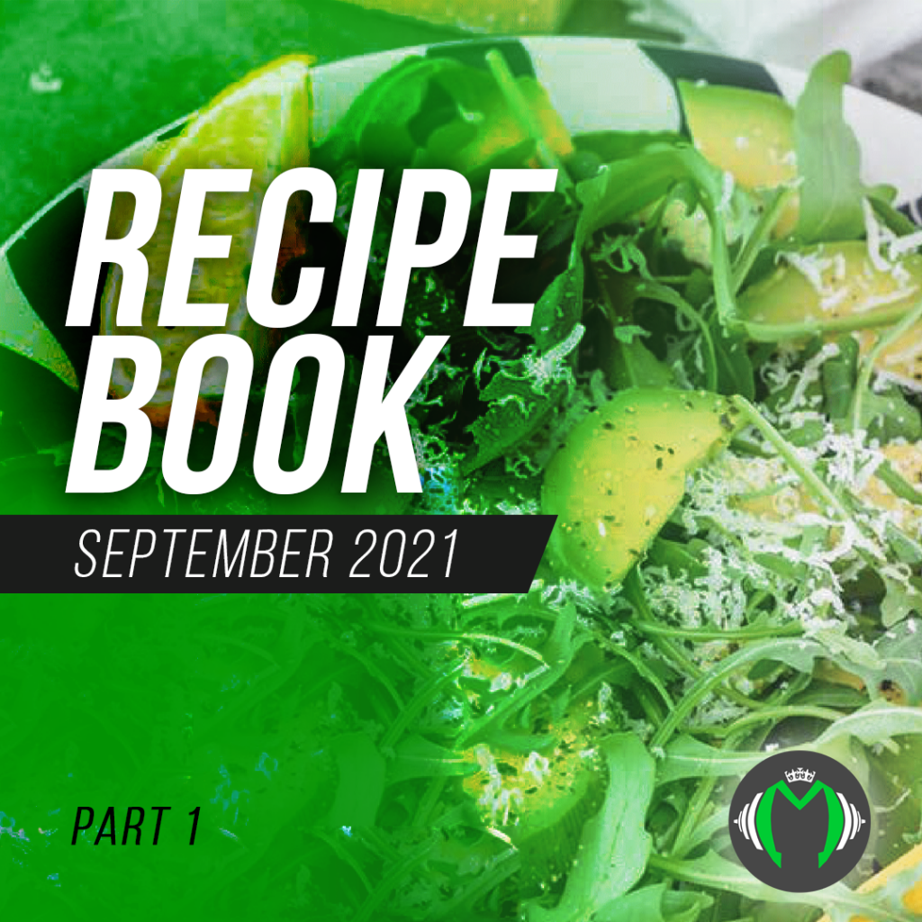 September Recipes Part 1